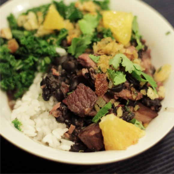 Feijoada - photo by my sister Emiko Davies