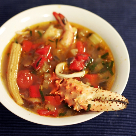 Seafood & Chicken Gumbo. Photo by Emiko Davies